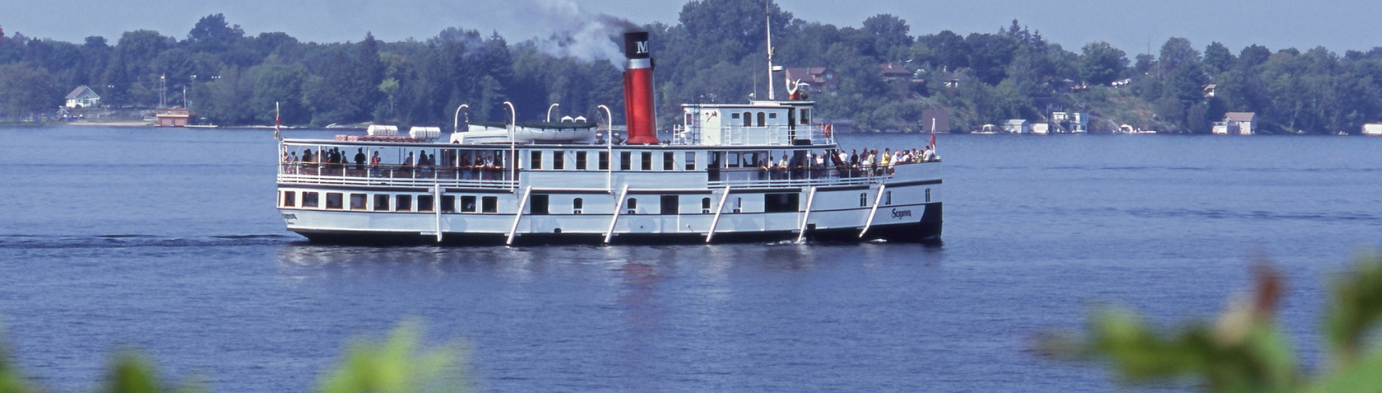 Cruising the Muskoka Lakes on a Steamship
