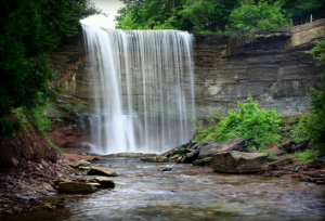 Waterfalls around Ontario