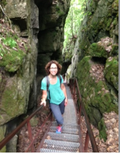 A Day at Scenic Caves by Michelle Brandes
