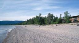 Beach in Agawa Bay, Lake Superior | Summer Fun Guide