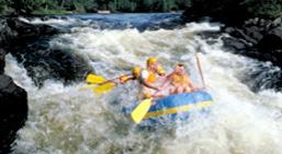 Rafting in Ontario