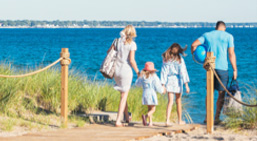 family beaches in Ontario