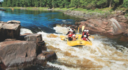 white water rafting in ontario