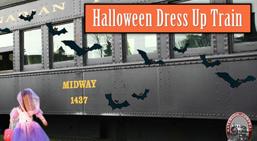 Halloween train ride