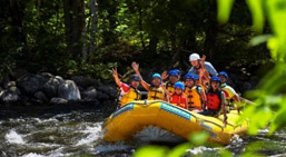 whitewater rafting in Ontario