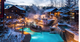 Outdoor thermal spa
