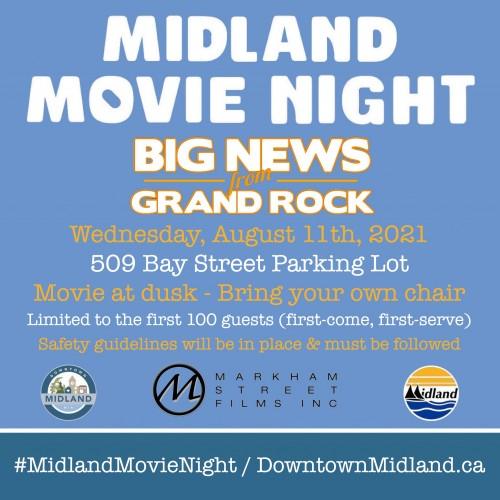 Midland Movie Night: Big News From Grand Rock-event-photo