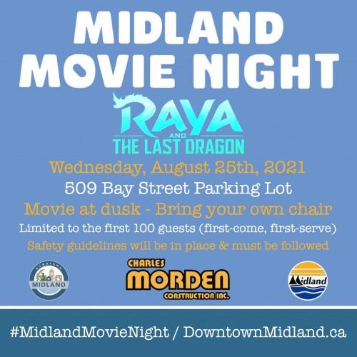 Midland Movie Night: Raya and the Last Dragon-event-photo
