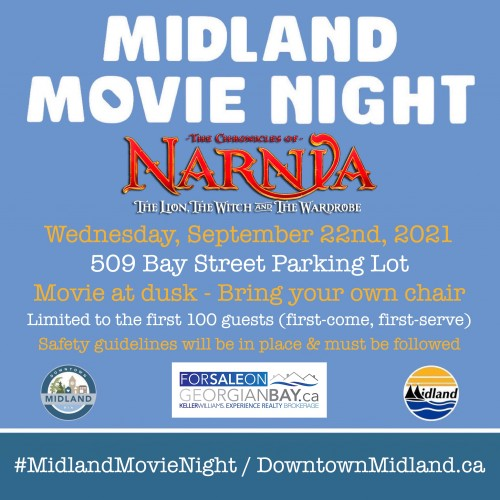 Midland Movie Night: Chronicles of Narnia - The Lion, the Witch and the Wardrobe-event-photo