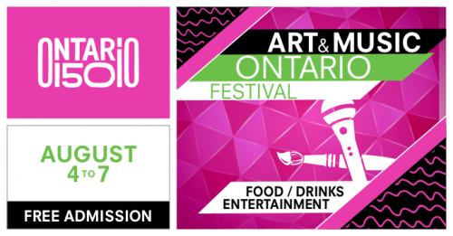 Art & Music Ontario Festival-event-photo