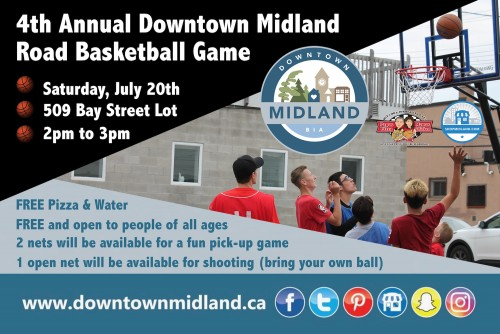 4th Annual Downtown Midland Road Basketball Game-event-photo