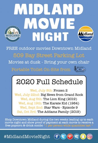Free Halloween Midland Movie Night - The Addams Family (2019)-event-photo