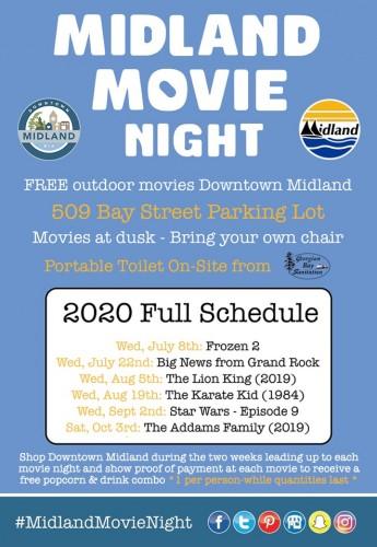 Free Midland Movie Night - The Karate Kid (1984)-event-photo