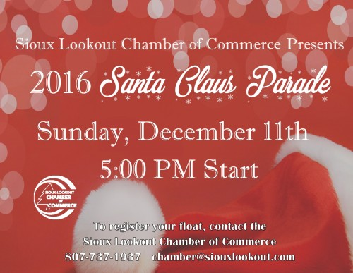 Sioux Lookout Santa Claus Parade