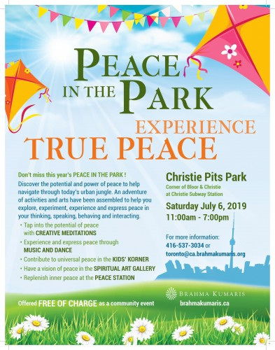 Peace in the Park 2019 @ Christie Pits Park Toronto-event-photo