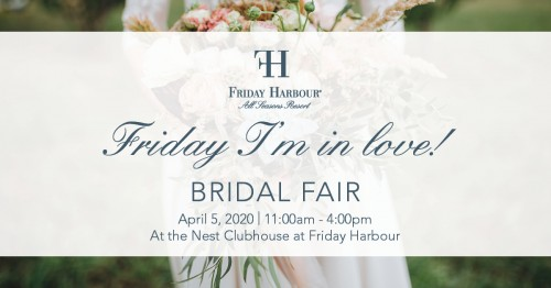 Friday I'm In Love Bridal Fair at Friday Harbour-event-photo