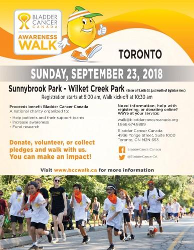 Bladder Cancer Canada Awareness Walk-event-photo
