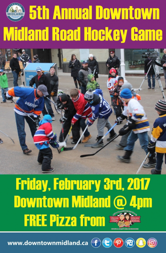 5th Annual Downtown Midland Road Hockey Game-event-photo