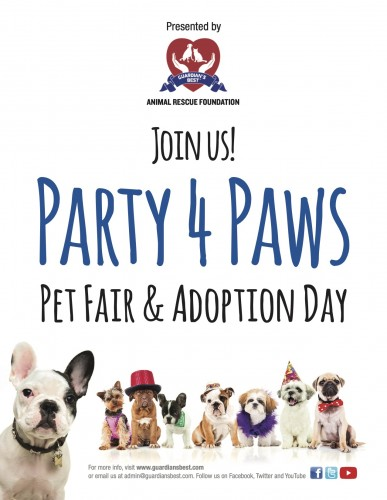 PARTY 4 PAWS: PET FAIR & ADOPTION DAY-event-photo