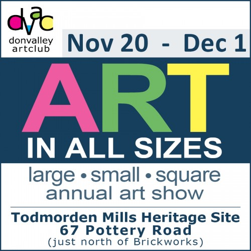 Don Valley Art Club - ART IN ALL SIZES - large, small, square-event-photo