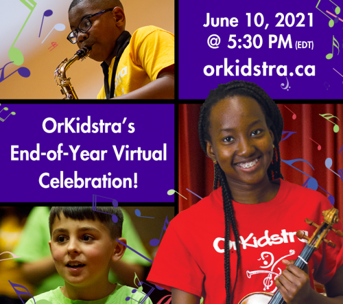 OrKidstra's End-of-Year Virtual Celebration!
