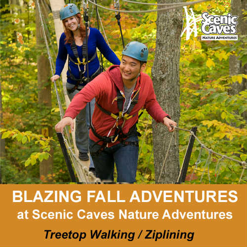 Blazing Fall Adventure Special at Scenic Caves-event-photo