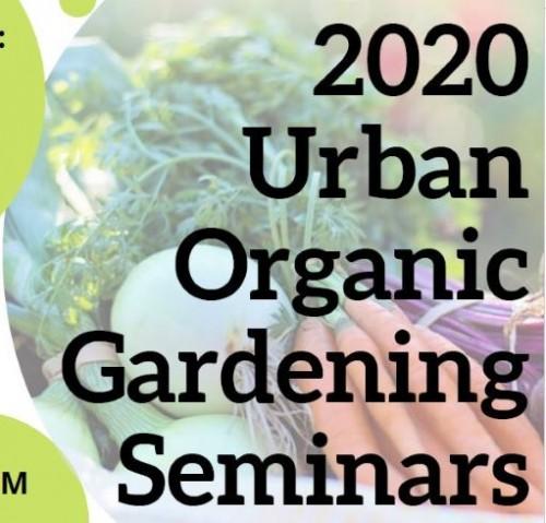Urban Organic Gardening Seminars 2020-event-photo