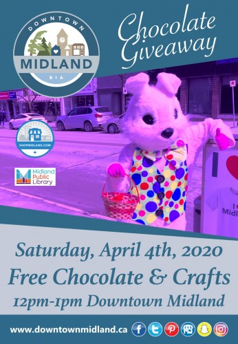 FREE - Downtown Midland Chocolate Giveaway-event-photo