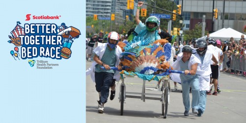 Scotiabank Better Together Bed Race-event-photo