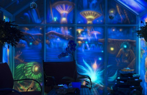 Shop After Dark Holographic Glowing Art Gallery-event-photo