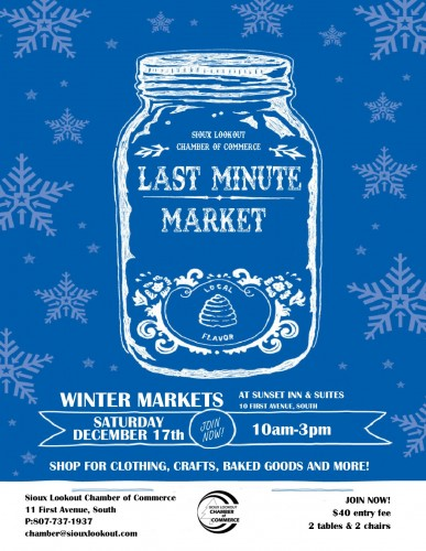 Sioux Lookout Chamber of Commerce Last Minute Market