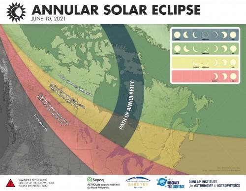 Annular Solar Eclipse June 10 2021