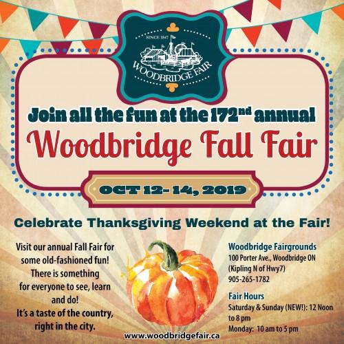 172nd Annual Woodbridge Fall Fair