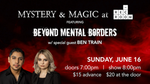 Mystery & Magic featuring Beyond Mental Borders-event-photo