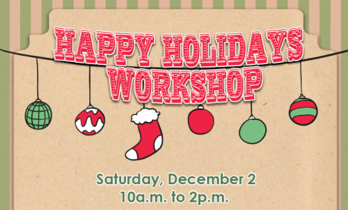 Happy Holidays Workshop-event-photo