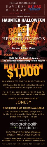 Hernder-Picasso Haunted Halloween Bash by Remax Niagara-event-photo