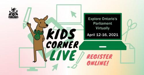 Kids Corner Live (Virtual)-event-photo
