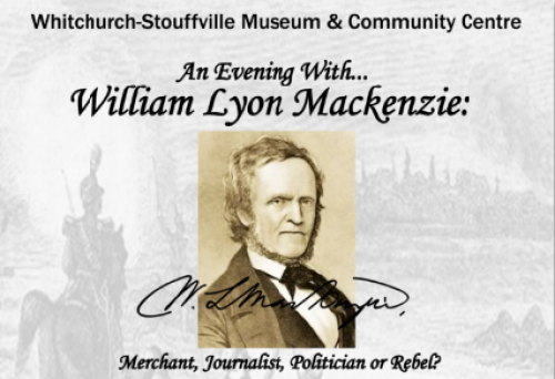 An Evening with William Lyon Mackenzie-event-photo