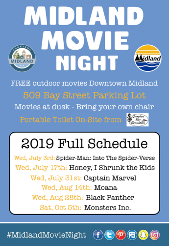 Free Midland Movie Night - Moana