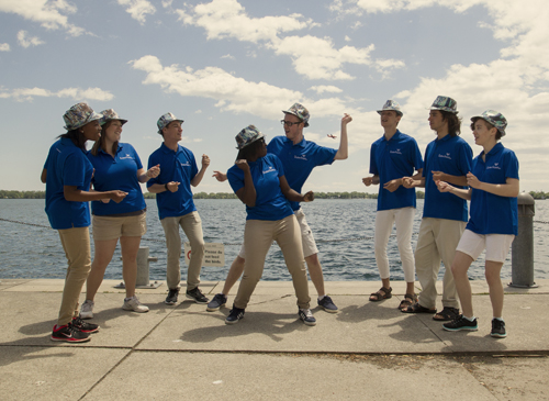 The Voice of Toronto's Waterfront, The Singing Ambassadors Inform and Perform until September 5-event-photo