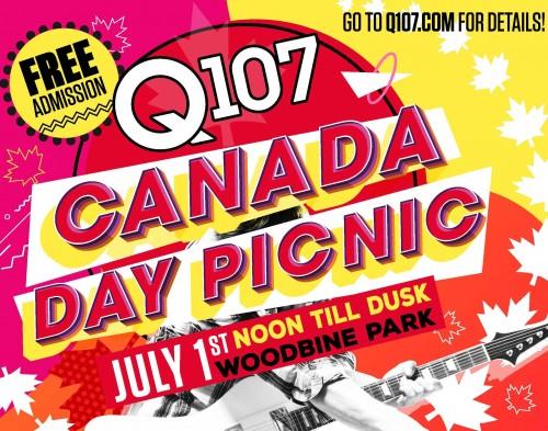 Q107 Canada Day Picnic-event-photo