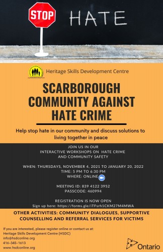 Hate Crimes and Safety Workshop-event-photo