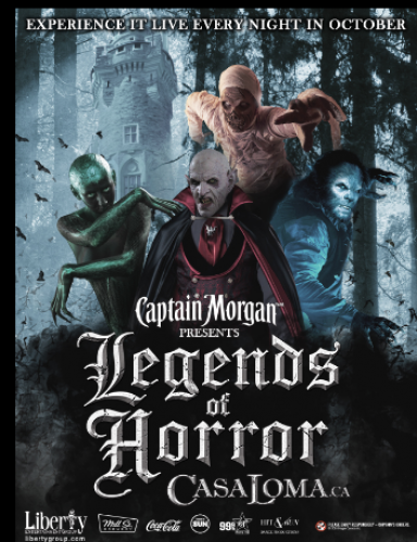 CANCELLED - Casa Loma - Legends of Horror-event-photo