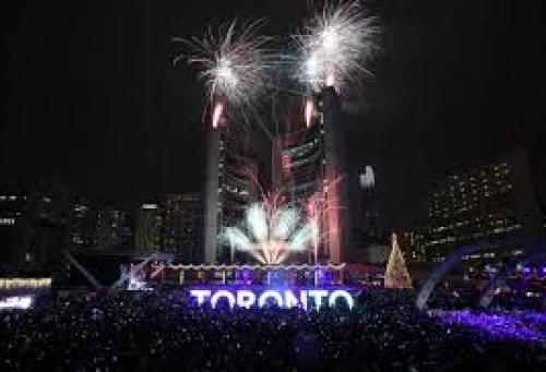 Canada's 150! - New Years Eve @ Nathan Phillip's Square
