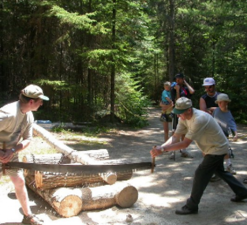 Loggers Day in Algonquin Park-event-photo