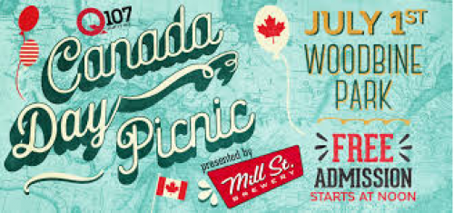 Q107 Canada Day Picnic at Woodbine Park-event-photo