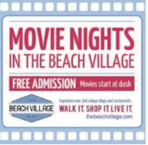 Movie Nights in the Beach Village