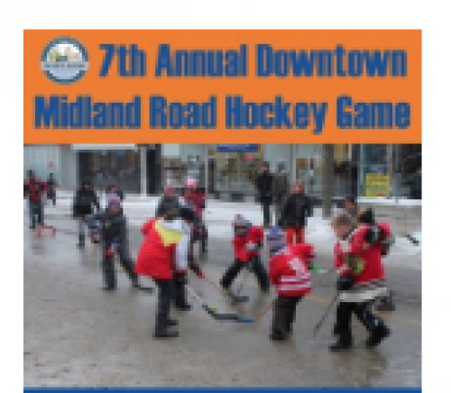 7th Annual Downtown Midland Road Hockey Game