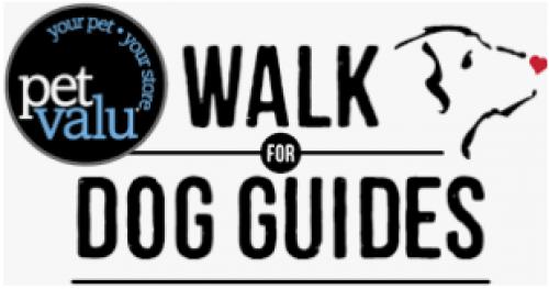 Vaughan Pet Valu Walk for Dog Guides
