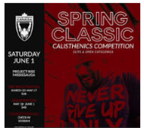 Spring Classic Calisthenics Competition-event-photo